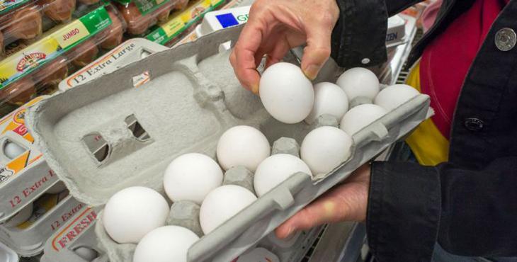 کاهش ۱۸۰۰ تومانی قیمت تخممرغ