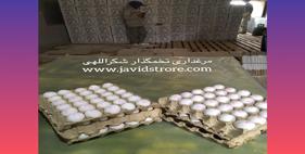 فروش تخم مرغ 12 کیلوگرمی مرغداری شکراللهی