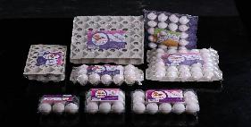 تخم مرغ بسته بندي 15 عددی طلقی
