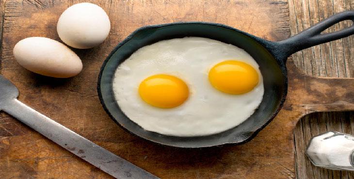 تخم مرغ را جایگزین گوشت و مرغ کنید
