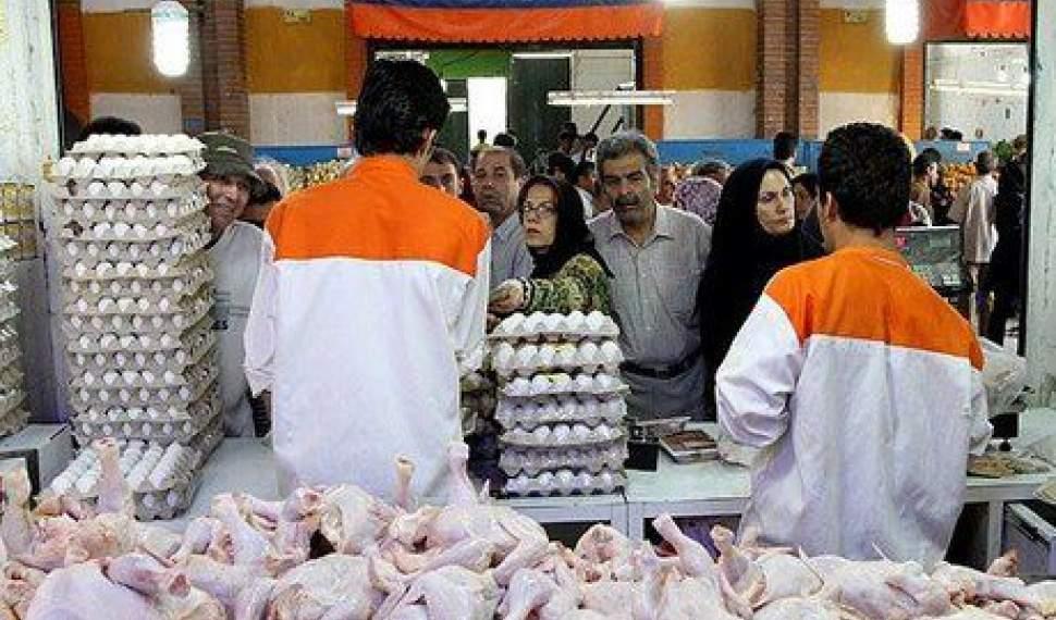 ثبات قیمت مرغ و تخم مرغ تا پایان ماه رمضان/کمبودی در بازار نداریم