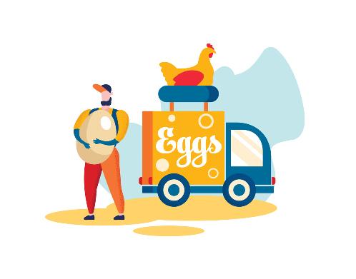 خرید و فروش تخم مرغ بصورت عمده