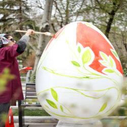 جشنواره تخم مرغهای رنگی