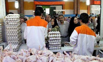 کاهش قیمت مرغ و تخممرغ