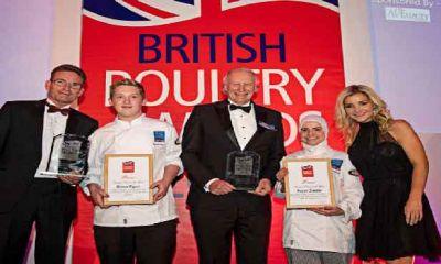 جوایز صنعت طیور بریتانیا برای سال ۲۰۱۹